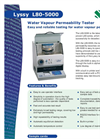 Lyssy L80-5000 Water Vapor Permeation Analyzer Brochure
