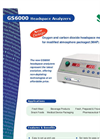 GS6000 Oxygen and Carbon Dioxide Headspace Gas Analyzer American Brochure