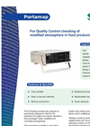 Portamap Portable Oxygen and Carbon Dioxide Headspace Analyzer American Brochure