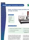 8200 Oxygen Permeation Analyzer American Brochure