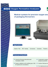 8001 Oxygen Permeation Analyzer American Brochure