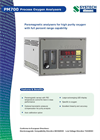 Systech PM700 Paramagnetic Oxygen Analyzer Brochure