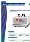 Systech 8501 Oxygen Permeation Analyzer - Brochure