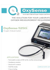 OxySense 5250i Oxygen Analyzer - Brochure