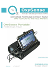 OxySense Portable Oxygen Analyzer - Brochure