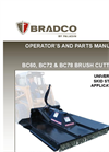 Bradco - Model 485 - Backhoe Brochure