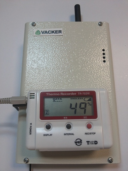 GSM Temperature Monitoring and alert system