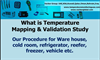 Temperature Mapping Study and Validation Procedure and Services: UAE