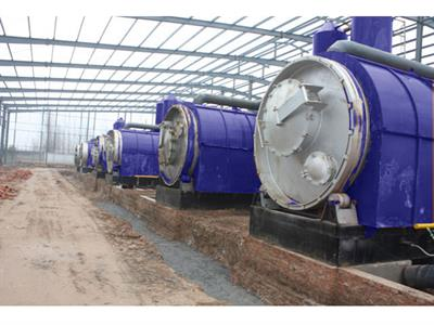 RESEM - Model HA - Pyrolysis Plant, Waste Tyre Recycling Plant, Tyre Oil Machine, Manufacturer in china