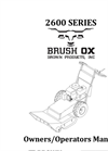 2600 SERIES BRUSHOX OWNERS - Brochure