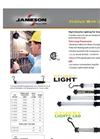 Stubby - Twin Lamp Fluorescent Work Lights - Brochure