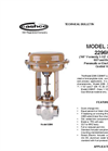 Model 2296 / 2296HF - Pneumatic or Electric Actuated Control Valve Brochure