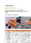 Model TA24 - 4` York Rake- Brochure