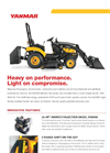 Standard - Model T80 - Rubber Track Tractor with Enclosed Cab Brochure