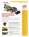 Turbo - Model Lx4900 - Open Platform Tractor with Rops Brochure