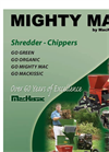 Model TPH122 & TPH184 - Three Point Hitch Shredder-Chippers Brochure