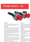 Caloritech - Model CX Series - Flange Heater - Catalog