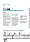 MKII - Model DSE7320 - Auto Mains Failure Control Module Brochure