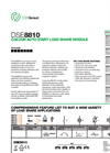 Model DSE8810 - Load Share Control Modules Brochure