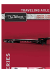 Talbert - Model 3548TA - Traveling Axle & Hydraulic Tail Trailer Brochure