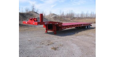 Talbert - Model 3548TA - Traveling Axle & Hydraulic Tail Trailer