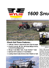 Single Axle Spray Trailer Brochure