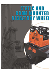 Excavator Static & Vibratory Roller Attachments - Brochure