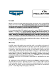 Evapco - Critical Process Air System - Installation Instructions Manual