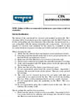 Evapco - Model CPA - Critical Process Air Systems - Maintenance Instructions Manual