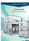 Evapco - Model LSWE/LRWB - Forced Draft Closed Circuit Coolers - Brochure