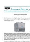 Maintaining and Cleaning Stainless Steel Engineering Bulletin