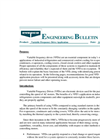 Variable Frequency Drive Application Engineering Bulletin