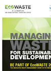 Managing Waste for Sustainable Development Brochure