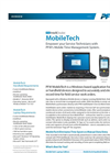 MobileTech - Windows Based Mobile Time Management Software Brochure