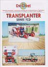 Model TCD series - 6 Row Transplanting Machine - Brochure