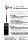 NearNet - Model NNT-TDT - UHF Radio Alarm Communication Device- Brochure