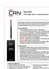 NearNet - Model NNT-RF2 & NNT-RF4 - UHF Radio Alarm Communication Devices Brochure