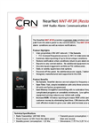 NearNet - Model NNT-RF3R - UHF Radio Alarm Communication Devices Brochure