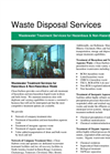 Wastewater Treatment Brochure
