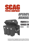 3-Bag Grass Collection System Manual