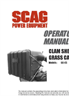 Clam Shell - Model CS - Grass Catcher Manual