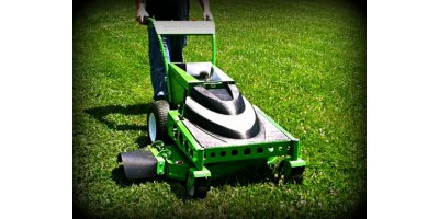 Model WBX-33  - Pure Electric Wide Area Walk Behind Mower