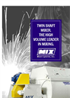 Dustmaster - Twin Shaft Style Industrial Batch Mixing Systems Brochure