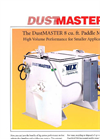 Dustmaster - Horizontal Paddle Style Industrial Batch Mixers Brochure
