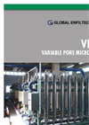 Model VPMF - Perfect Backwash Micro Filter Brochure