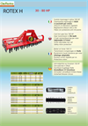 Rotex H - Model HP 40 - 80 - Power Harrow Brochure