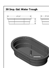 Model 30 - Oval Water Troughs Brochure