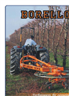 BORELLO - Model 8 BL - Pruning Rake Brochure
