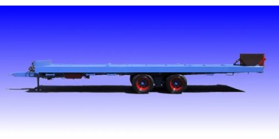 Tandem Axle Flatbed Trailers