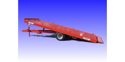 Model BP - Flatbed Trailers with Twin Wheels